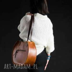 Ladybuq Art Studio na ramię: torebka skórzana wykonana ręcznie Basia w rozmiarach L oraz L Slim idealna