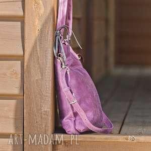 handmade na ramię torebka-na-ramię torebka skórzana ręcznie robiona