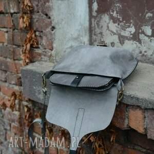 na ramię: Torebka skórzana plus organizer torba