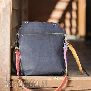 unikalne na ramię torba skórzana torebka ręcznie robiona