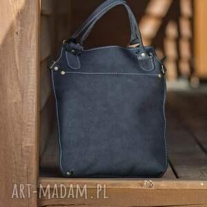 gustowne na ramię torba skórzana torebka ręcznie robiona