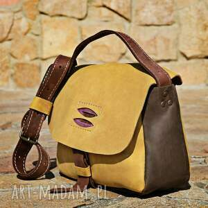 wyjątkowe na ramię torba skórzana torebka ręcznie robiona