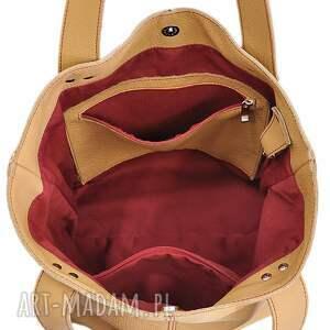 cbe600dd0f080 czerwone na ramię markowe torebka skylark. damskie ...