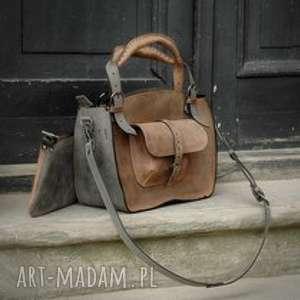 na ramię kuferek-skórzany torebka torba kuferek ręcznie