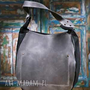 torebka na ramię brązowe torba ręcznie wykonana