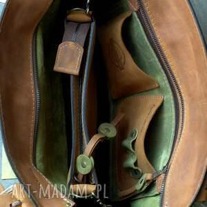 torba z-kieszenią na ramię torebka w pięknym limonkowym