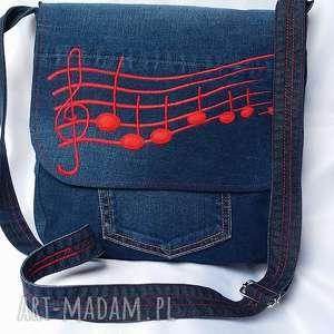 """intrygujące na ramię torba torebka tzw. """"listonoszka"""" wygodna, praktyczna"""