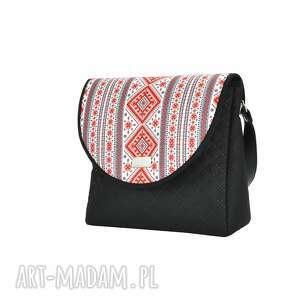 na ramię polskamarka torebka z wymiennymi klapkami puro