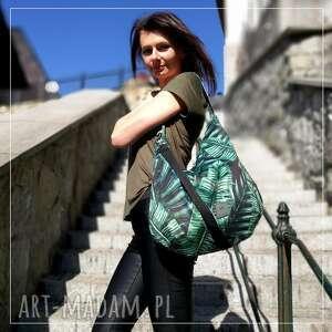 ręcznie wykonane na ramię torebka na tropical hobo torba welurowa