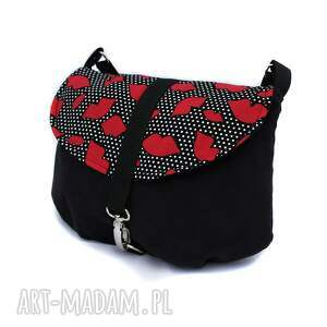 handmade na ramię torba usta