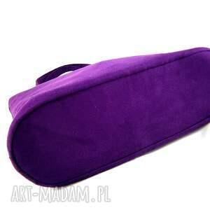 codzienna na ramię usual violet
