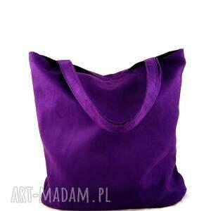fioletowe na ramię torebka usual violet