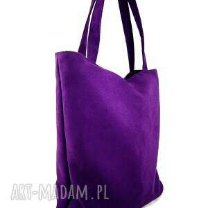 handmade na ramię torebka usual violet