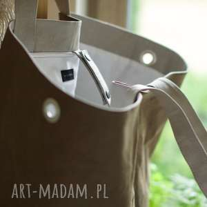 hand made na ramię washpapa torba regulowana xxxl
