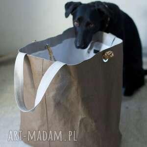 hand-made na ramię ekologiczna washpapa torba regulowana xxxl