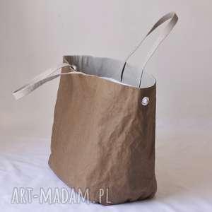 hand-made na ramię washpapa wegańska torba xxxl