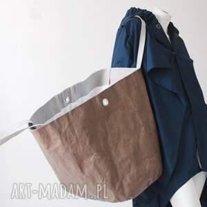 na ramię unisex wegańska torba xxxl