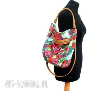 ręczne wykonanie na ramię worek w kwiaty
