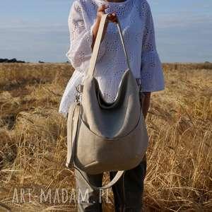 urokliwe na ramię torba workówka plecionka