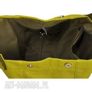 090d6efb49 torebki damskie na ramię 24 -0010 zielona torebka damska