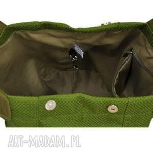 torebka-na-ramię na ramię 24-0009 zielona torebka damska