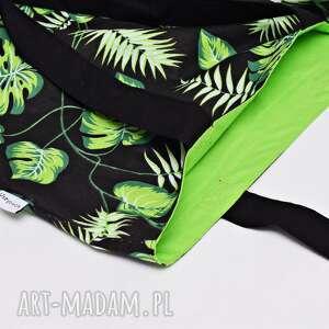 intrygujące torba na zakupy shopperka liście