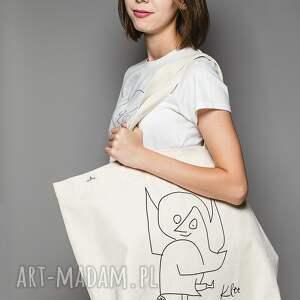 trendy na zakupy anioł torba bawełniana (duża)