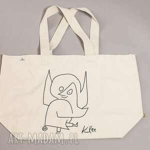 na zakupy klee torba bawełniana (duża) anioł