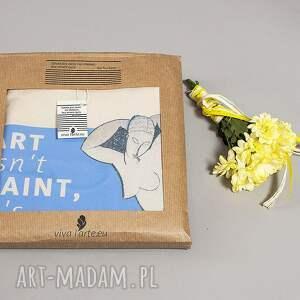 płótno na zakupy torba bawełniana (średnia) art isnt