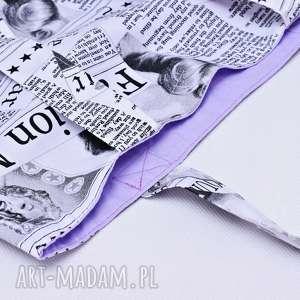 efektowne torba marylin monroe na zakupy shopperka