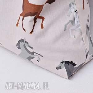 beżowe torba ekologiczna bawełniana na zakupy