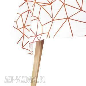 Obrus 130 x 180 cm Matowy wodoodporny Easy Iron Crata Cu Kier