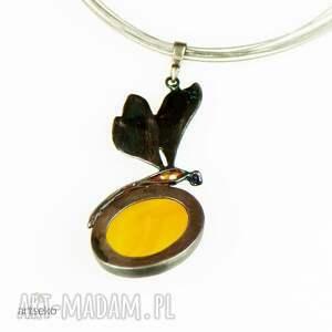 naszyjnik-z-ważką naszyjniki a562 słoneczna ważka - naszyjnik