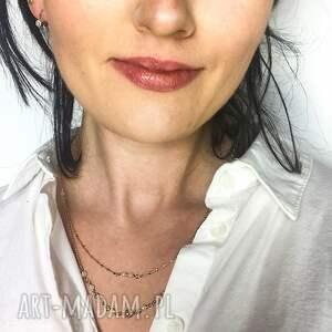 naszyjnik naszyjniki agat biały