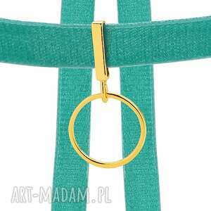 eleganckie naszyjniki modny aksamitny choker w kolorze morskim