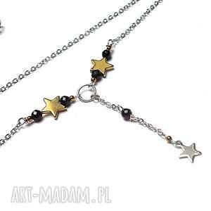 ciekawe naszyjniki alloys collection - line / star