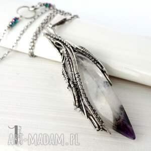 naszyjniki srebro amethyst peak srebrny naszyjnik