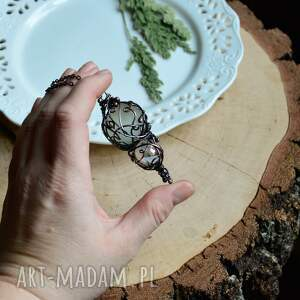 Pracownia Miedzi oryginalne naszyjniki wisior amulet - naszyjnik z wisiorem