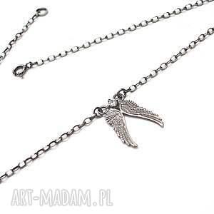 naszyjniki: Angel vol. 4 - naszyjnik - ręcznie wykonane srebro