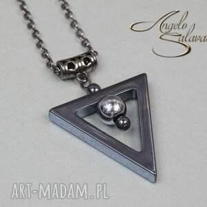 hand made naszyjniki naszyjnik angelo trianglo