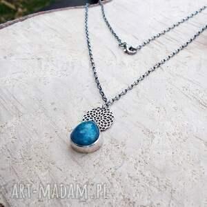 JewelsbyKT naszyjniki: Apaytowa kropla na ażurach - ażurowy srebrna biżuteria