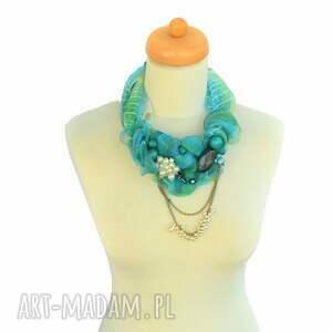 naszyjniki azzurro naszyjnik handmade