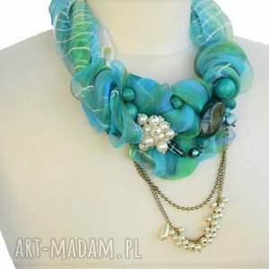 kolia naszyjniki azzurro naszyjnik handmade