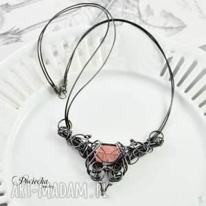 unikalne naszyjniki naszyjnik baroque quartz -