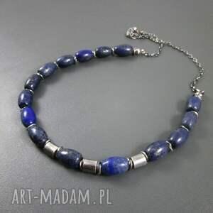 naszyjniki beczułki z lapis lazuli