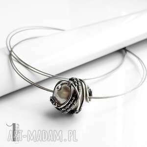 naszyjniki naszyjnik bianco ix srebrny z perłą