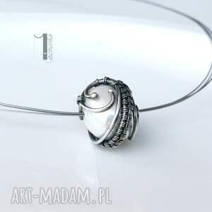 naszyjniki srebro bianco vii - naszyjnik z perłą