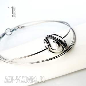 naszyjniki wirewrapping bianco viii - naszyjnik z perłą