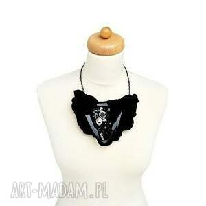 naszyjniki czarny black jack naszyjnik handmade
