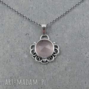 naszyjniki romantyczny bloom kwarc różowy